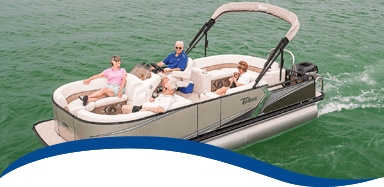 Tahoe Signature Collection LTZ Pontoon Boat
