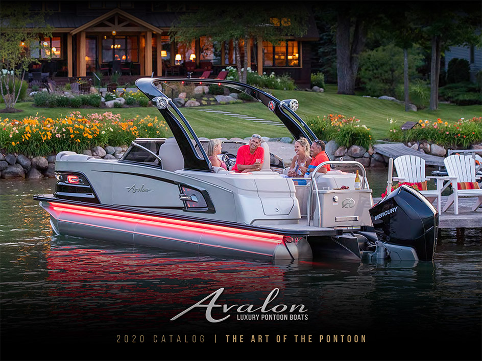 Avalon Pontoon Catalog 2020