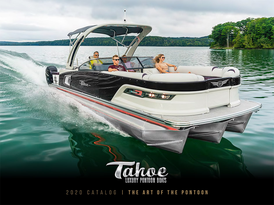 Tahoe Pontoon Boats 2020 Catalog Cover